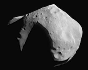 会合-舒梅克号探测器拍摄到的253号小行星梅西尔德,怒后星还没有人类的探测器到访过