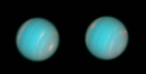 1995年6月14日,HST第一次观测海王星。