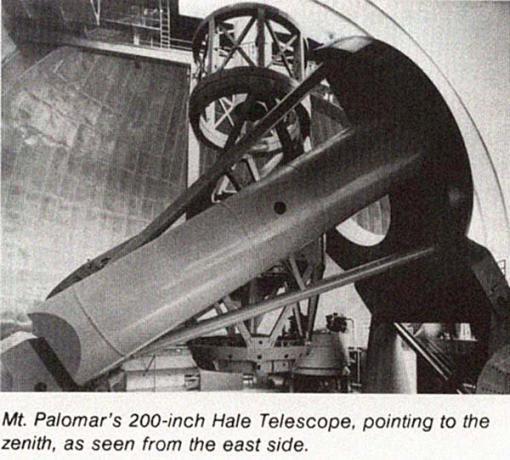 1949年启用的美国海尔望远镜,口径5米