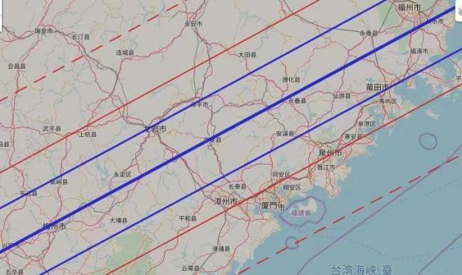 这次的怒神星掩毕宿四,穿越爱好者云集的福建、广东沿海地区