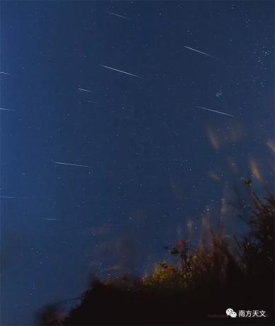 @乐观的茂茂 此次拍摄的双子座流星雨